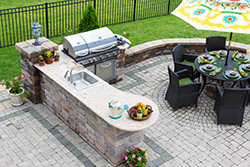 Albuquerque NM outdoor bbq Granite kitchen T & T Stone