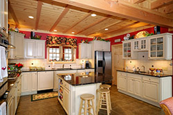 Country kitchen NM Granite kitchen T & T Stone
